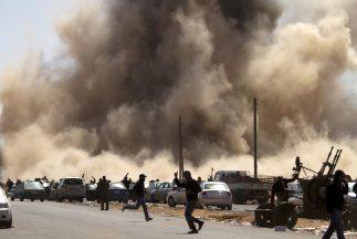 Libia: el polígono internacional