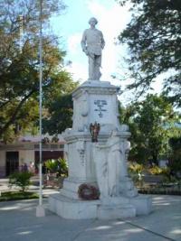 Monumento a Vicente García en Las Tunas
